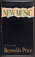 Books:Signed Editions, Reynolds Price. New Music. A Trilogy. [New York]: Theatre Communications Group, [1990]. First edition. Signed ...