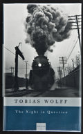 Books:Signed Editions, Tobias Wolff. The Night in Question. Stories. New York: Alfred A. Knopf, 1996. First edition. Inscribed, signe...