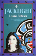 Books:Signed Editions, Louise Erdrich. Jacklight. Poems. [London]: Abacus, [1990]. Signed by the author on the title page. Publishe...