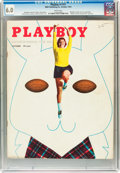 Magazines:Miscellaneous, Playboy #11 (HMH Publishing, 1954) CGC FN 6.0 White pages....