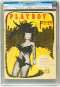 Magazines:Miscellaneous, Playboy #3 (HMH Publishing, 1954) CGC VG+ 4.5 White pages....