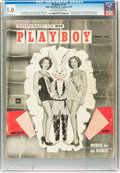 Magazines:Miscellaneous, Playboy #2 (HMH Publishing, 1954) CGC FR 1.0 Off-white to whitepages....