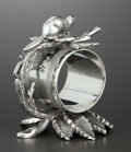 Silver Holloware, American:Napkin Rings, A CANADIAN SILVER PLATE FIGURAL NAPKIN RING . Toronto Silver PlateCompany, Toronto, Canada, circa 1880. Marks: TORONTO S....