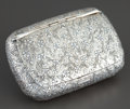 Silver Smalls:Snuff Boxes, A FRENCH SILVER AND SILVER GILT SNUFF BOX . Probably Paris, France,circa 1880. Marks: (2 boar's heads), MANOURY PASS DES ...