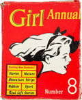 Books:Children's Books, Marcus Morris [editor]. Girl Annual - Number Eight. London:Hulton Press, [n.d., circa 1960]. Illustrations and comi...
