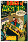 Golden Age (1938-1955):Horror, House of Mystery #2 (DC, 1952) Condition: VG+....