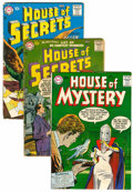 Silver Age (1956-1969):Horror, House of Mystery/House of Secrets Group (DC, 1957-58).... (Total: 3Comic Books)
