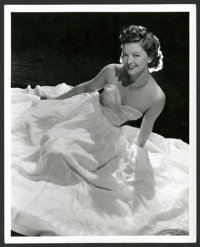 """Myrna Loy in """"I Love You Again"""" by Laszlo Willinger (MGM, 1940). Portrait Photo (8"""" X 10""""). Comedy..."""