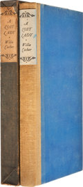 Books:Signed Editions, Willa Cather. A Lost Lady. New York: Alfred A. Knopf, 1923.First edition limited to 2,220 copies of which this is n...