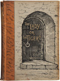 Books:First Editions, Frank R. Stockton. The Lady, or the Tiger? And OtherStories. New York: Charles Scribner's Sons, 1884. First edi...