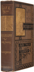 Books:First Editions, [Samuel Clemens]. Mark Twain. Life on the Mississippi.Boston: James R. Osgood and Company, 1883. First edition, fir...