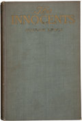 Books:First Editions, Sinclair Lewis. The Innocents. A Story For Lovers. New Yorkand London: Harper & Brothers, 1917. First edition. ...