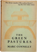 Books:First Editions, Marc Connelly. The Green Pastures, a Fable. New York: Farrar& Rinehart, Inc., 1929. First edition. With a long,...