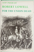 Books:First Editions, Robert Lowell. For the Union Dead. New York: Farrar, Straus& Giroux, [1964]. First edition, first printing. Octavo....