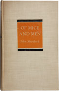 Books:First Editions, John Steinbeck. Of Mice and Men. New York: Covici FriedePublishers, [1937]. First edition, first printing. Octavo. ...