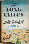 Books:First Editions, John Steinbeck. The Long Valley. New York: The Viking Press,1938. First edition. Octavo. 303 pages. Quarter cream c...