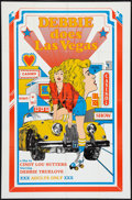 """Movie Posters:Adult, Debbie Does Las Vegas (Unknown, 1981). One Sheet (27"""" X 41""""). Adult.. ..."""