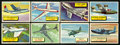 "Non-Sport Cards:Sets, 1957 Topps R707-2 ""Planes"" Complete Set (120). ..."