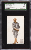 Baseball Cards:Singles (Pre-1930), 1922 E137 Zeenut PCL Jim Thorpe SGC Authentic. ...