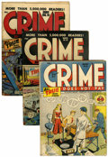 Golden Age (1938-1955):Crime, Crime Does Not Pay #49-55 Group (Lev Gleason, 1947).... (Total: 7 Comic Books)