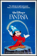 "Movie Posters:Animated, Fantasia (Buena Vista, R-1982). One Sheet (27"" X 41""). Animated.. ..."