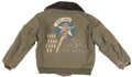 """Military & Patriotic:WWII, """"Joltin' Josie the Pacific Pioneer"""" Painted B-15 Jacket and Navigators' Case.... (Total: 2 Items)"""