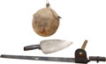 Military & Patriotic:Indian Wars, Group of Three Items.... (Total: 3 Items)