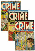 Golden Age (1938-1955):Crime, Crime Does Not Pay #64-70 Group (Lev Gleason, 1948).... (Total: 7 Comic Books)