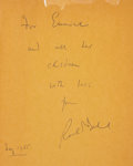 Books:Signed Editions, Roald Dahl. Charlie and the Chocolate Factory. New York:Alfred A. Knopf, [1964].. First edition (the American...