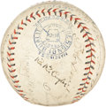 Autographs:Baseballs, 1932 Chicago Cubs Team Signed Baseball....