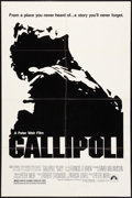 "Movie Posters:War, Gallipoli Lot (Paramount, 1981). One Sheets (4) (27"" X 41""). War..... (Total: 4 Items)"