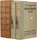 Books:First Editions, Charles Dickens. The Posthumous Papers of the Pickwick Club.London: Chapman & Hall and Lawrence & Jellicoe, 191...(Total: 2 Items)