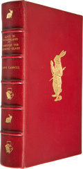 Books:Children's Books, Lewis Carroll. Two Books Bound Together, including: Alice'sAdventures in Wonderland. [London]: Macmillan, [1973]. L...