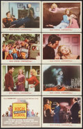 "Movie Posters:Exploitation, High School Confidential (MGM, 1958). Lobby Card Set of 8 (11"" X14""). Exploitation.. ... (Total: 8 Items)"