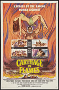 """Movie Posters:Historical Drama, Carthage in Flames (Columbia, 1960). One Sheet (27"""" X 41"""").Historical Drama.. ..."""