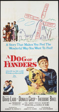 "Movie Posters:Drama, A Dog of Flanders (20th Century Fox, 1959). Three Sheet (41"" X 81""). Drama.. ..."