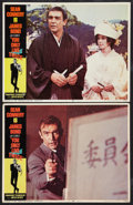 """Movie Posters:James Bond, You Only Live Twice (United Artists, 1967). Lobby Cards (2) (11"""" X 14""""). James Bond.. ... (Total: 2 Items)"""