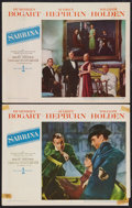 "Movie Posters:Romance, Sabrina (Paramount, 1954). Lobby Cards (2) (11"" X 14""). Romance.. ... (Total: 2 Items)"