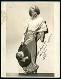 """Movie Posters:Miscellaneous, Betty Compson by Preston Duncan Lot (1930s). Autographed Portrait Photos (3) (11"""" X 14"""" and 9"""" X 11.5""""). Miscellaneous.. ... (Total: 3 Items)"""