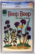 Silver Age (1956-1969):Cartoon Character, Four Color #1008 Beep Beep the Road Runner - File Copy (Dell, 1959) CGC NM- 9.2 Off-white pages....