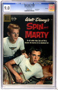 Four Color #1026 Spin and Marty - File Copy (Dell, 1959) CGC VF/NM 9.0 Off-white pages