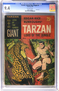 Silver Age (1956-1969):Adventure, Tarzan Lord of the Jungle #1 (Gold Key, 1965) CGC NM 9.4 Off-white pages....