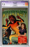 Golden Age (1938-1955):Horror, Witchcraft #1 Bethlehem pedigree (Avon, 1952) CGC Apparent VF- 7.5Off-white to white pages....