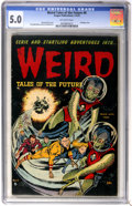 Golden Age (1938-1955):Horror, Weird Tales of the Future #6 (Aragon, 1953) CGC VG/FN 5.0 Off-whitepages....
