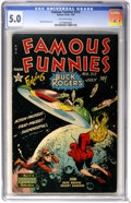 Golden Age (1938-1955):Science Fiction, Famous Funnies #212 (Eastern Color, 1954) CGC VG/FN 5.0 Off-whitepages....