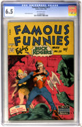 Golden Age (1938-1955):Science Fiction, Famous Funnies #211 (Eastern Color, 1954) CGC FN+ 6.5 Off-whitepages....