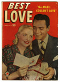 Golden Age (1938-1955):Romance, Best Love #33 (Marvel, 1949) Condition: VG....