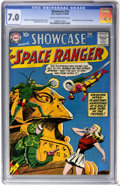 Silver Age (1956-1969):Science Fiction, Showcase #16 The Space Ranger (DC, 1958) CGC FN/VF 7.0 Cream tooff-white pages....