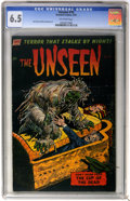 Golden Age (1938-1955):Horror, The Unseen #10 (Standard, 1953) CGC FN+ 6.5 Off-white pages....