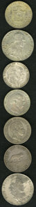 German Lots, German Lots: Seven talers:... (Total: 7 coins)